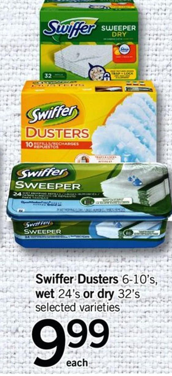 Swiffer Dusters - 6-10's - Wet .24's Or Dry - 32's