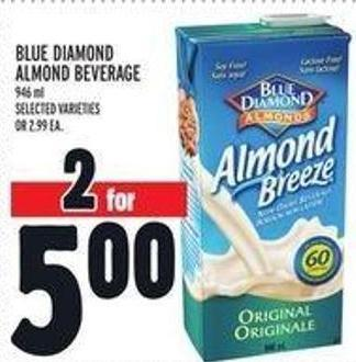 Blue Diamond Almond Beverage