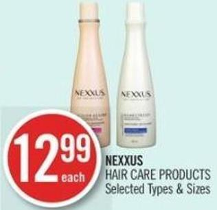 Nexxus Hair Care Products