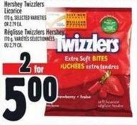 Hershey Twizzlers Licorice 170 g