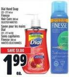 Dial Hand Soap 221 - 277 Ml Or Fitness Hair Care 300 Ml