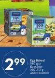 Burnbrae Farms Egg Bakes! 190 g or Eggs2go! 190-212 g