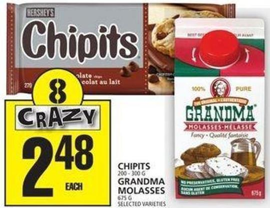 Chipits Or Grandma Molasses