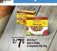 Old El Paso Shells & Tortillas & Components - 191g-334g