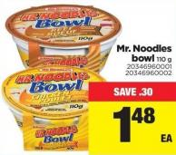 Mr. Noodles Bowl