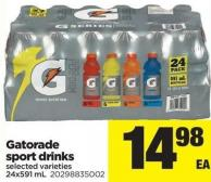 Gatorade Sport Drinks - 24x591 mL