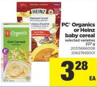 PC Organics Or Heinz Baby Cereal - 227 g
