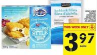 High Liner Family Packs Or Selection Fish Fillets