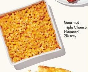 Gourmet Triple Cheese Macaroni