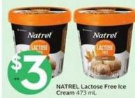 Natrel Lactose Free Ice Cream 473 ml