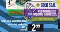 Gold Seal Wild Mackerel - 115 G
