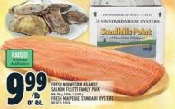 Fresh Norwegian Atlantic Salmon Fillets Family Pack