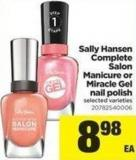 Sally Hansen Complete Salon Manicure Or Miracle Gel Nail Polish