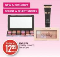 Revolution Cosmetic Products