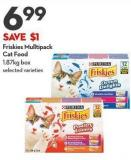 Friskies Mulltipack  Cat Food 1.87kg Box