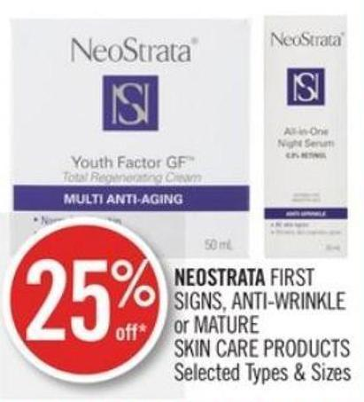 Neostrata First Signs - Anti-wrinkle or Mature Skin Care Products
