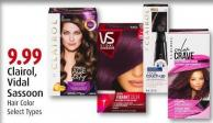 Clairol - Vidal Sassoon Hair Color