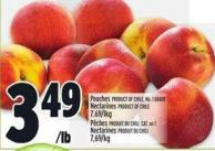 Peaches Product Of Chile - No. 1 Grade