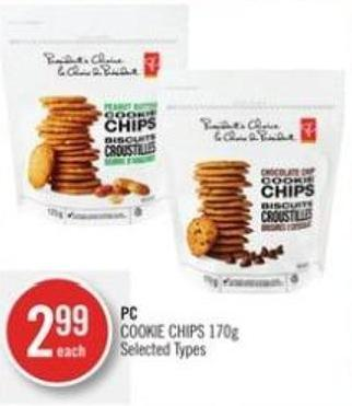 PC Cookie Chips 170g