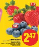 Strawberries Or Blueberries - 1 Lb