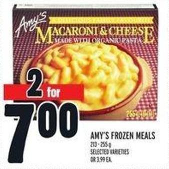 Amy's Frozen Meals