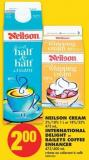 Neilson Cream - 5%/10% 1 L or 18%/35% 473 mL - International Delight or Baileys Coffee Enhancer - 473/400 mL