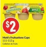Mott's Fruitsations Cups 111-113 g
