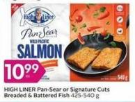 High Liner Pan-sear or Signature Cuts Breaded & Battered Fish