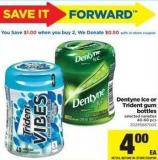 Dentyne Ice Or Trident GUM Bottles - 40–60 Pcs