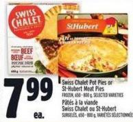 Swiss Chalet Pot Pies Or St-hubert Meat Pies