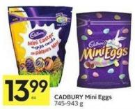 Cadbury Mini Eggs - 745-943 g