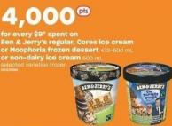 Ben & Jerry's Regular - Cores Ice Cream Or Moophoria Frozen Dessert 473-500 Ml Or Non-dairy Ice Cream 500 Ml
