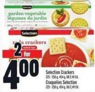 Selection Crackers