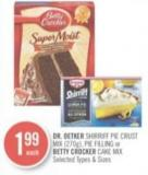 Dr. Oetker Shirriff Pie Crust Mix (270g) - Pie Filling or Betty Crocker Cake Mix