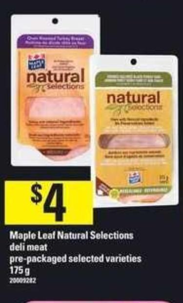 Maple Leaf Natural Selections - 175 G