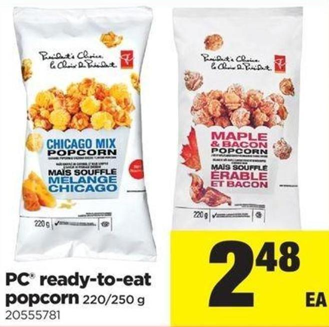 PC Ready-to-eat Popcorn - 220/250 G