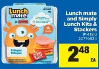Lunch Mate And Simply Lunch Kits & Stackers - 81-132 g