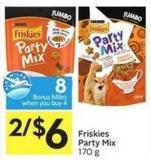 Friskies Party Mix 170 g - 8 Air Miles Bonus Miles