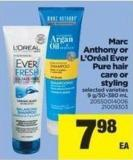 Marc Anthony Or L'oréal Ever Pure Hair Care Or Styling - 9 G/50-380 mL