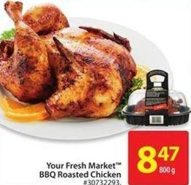 Your Fresh Market Bbq Roasted Chicken