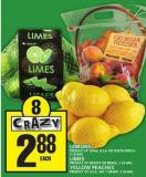Lemons Or Limes Or Yellow Peaches