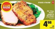 PC Free From Centre & Rib Chops