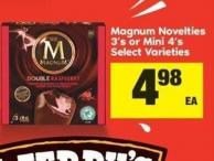 Magnum Novelties - 3's Or Mini - 4's