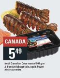 Fresh Canadian Cove Mussel 907 G Or 2-3 Oz Size Lobster Tails