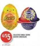 Selected Single Serve Easter Chocolate