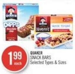 Quaker Snack Bars