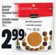 Selection Ground Cinnamon Spice 113 g