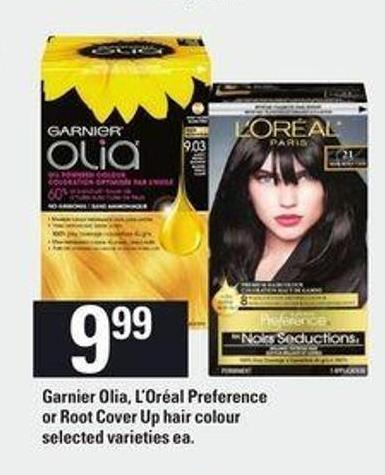 Garnier Olia - L'oréal Preference Or Root Cover Up Hair Colour