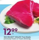 Sea Delight Yellowfin Tuna Steaks