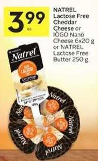 Natrel Lactose Free Cheddar Cheese